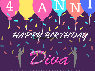 Happy Birthday DIVA 4 ANNI!
