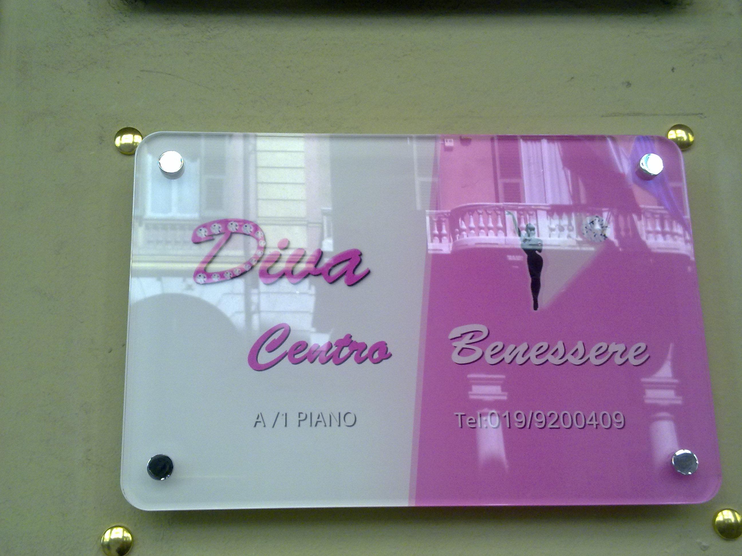 Diva business signboardBeauty Salon