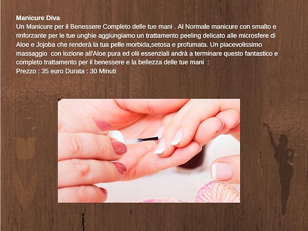 descrizione manicure spa