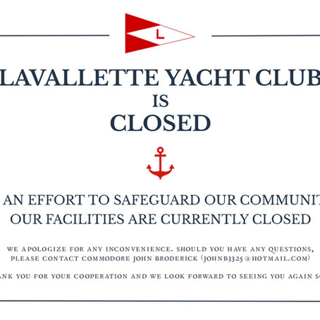 COVID-19: LYC Closed Until April 15th