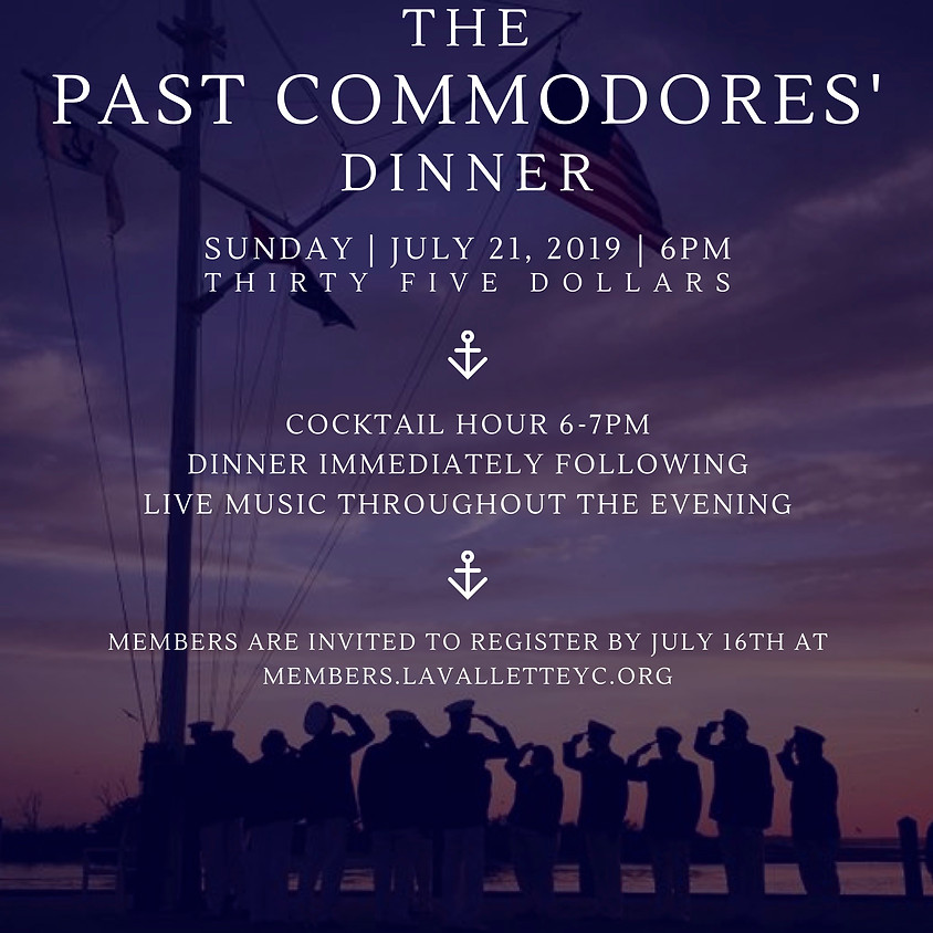 Past Commodores' Dinner