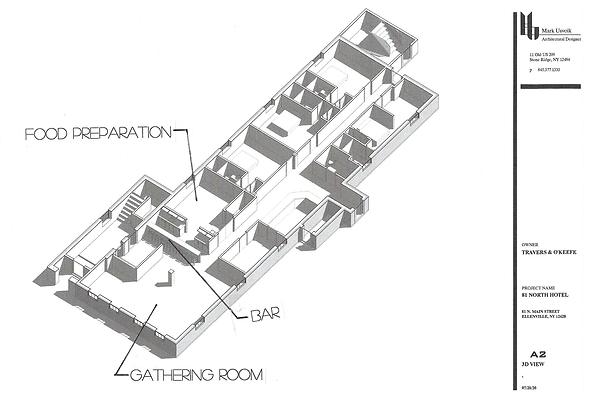 Gathering Room Diagram