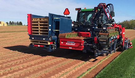 Brand New Brouwer RoboMax Sod Harvester