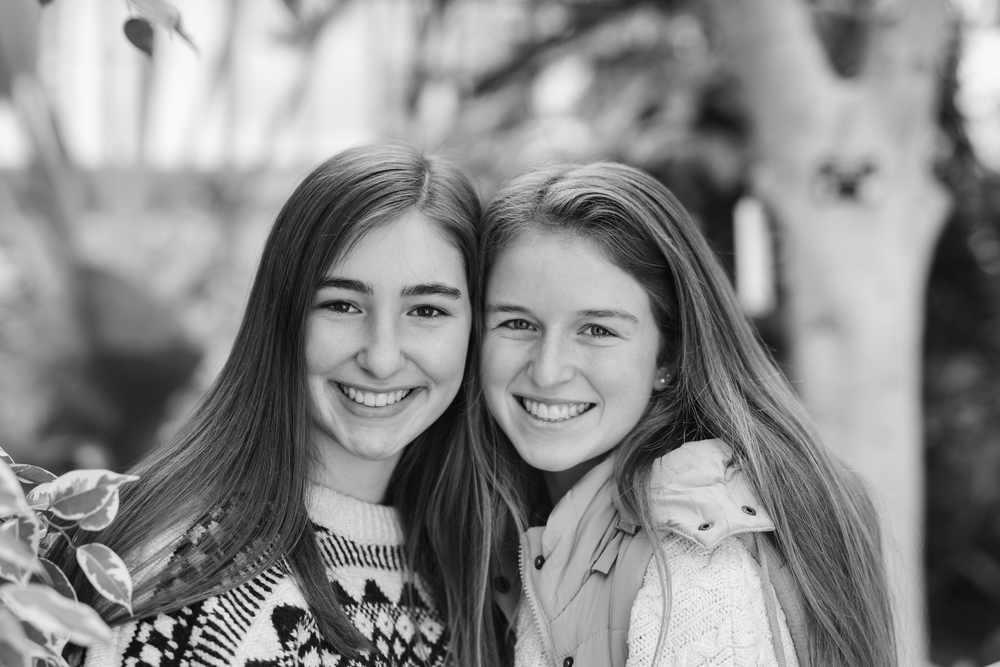 Ellen and Abby
