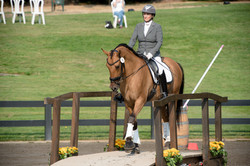 Polly Limond and Flying Tiger, owned by