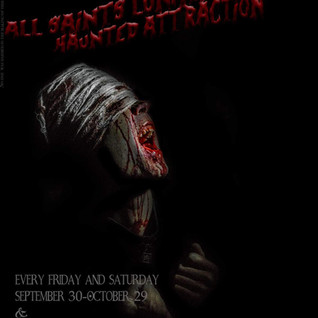 Flyer/Ad for All Saints Lunatic Asylum