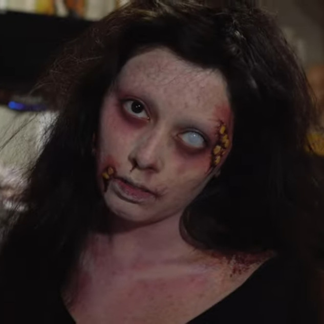 Phantom Zone Efx Youtube Infected Makeup