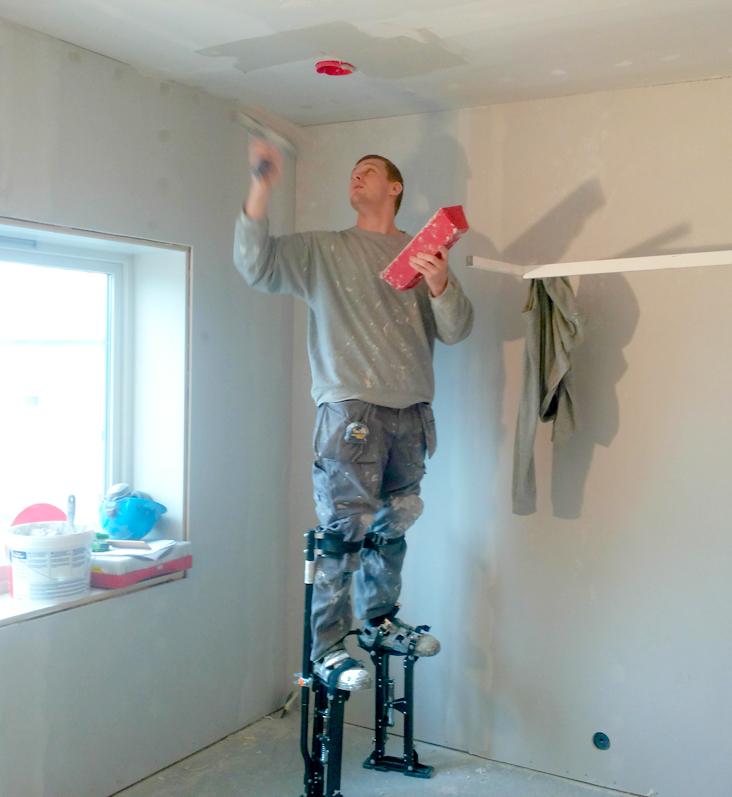 Spakling av tak