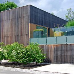 ónkraj oblikovanja: zelene strehe