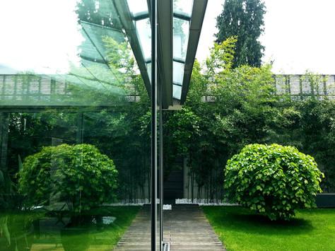 ónkraj oblikovanja: kjer se srečata arhitektura in krajina.