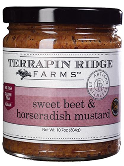Sweet Beet & Horseradish Mustard