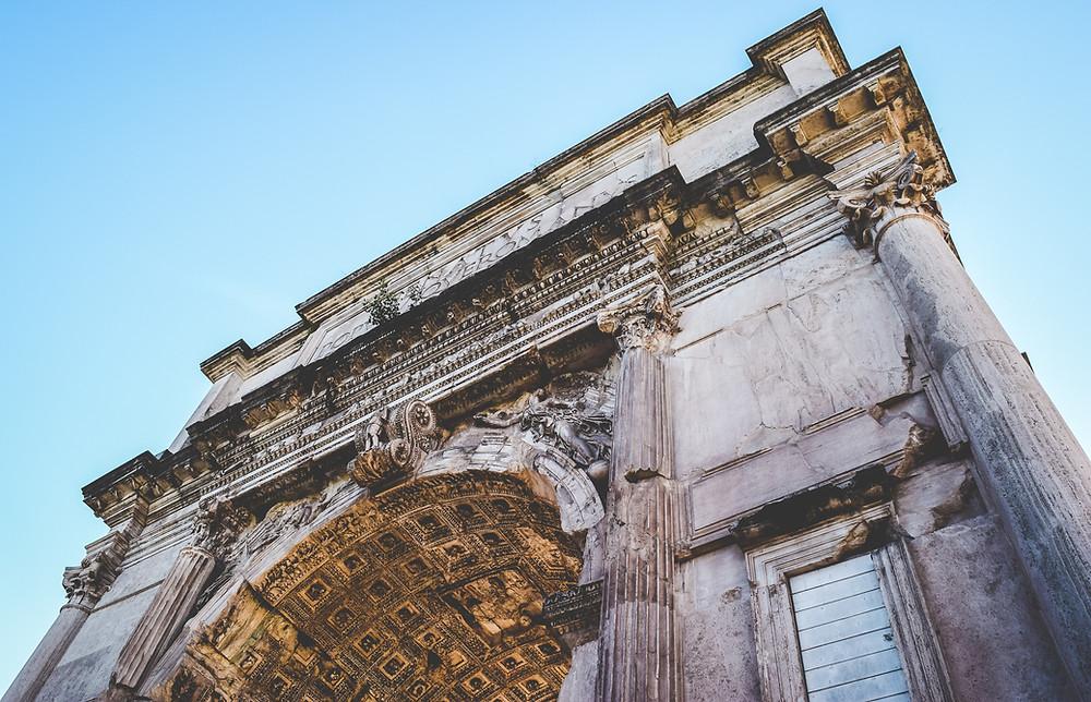 Arch of Titus, Roman forum, palatine hill
