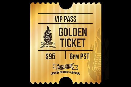Golden Ticket VIP Pass