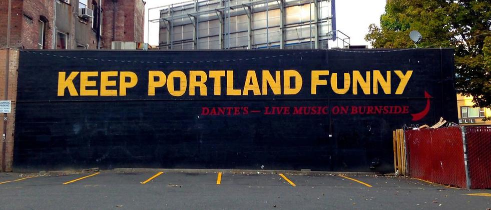 KEEP PDX FUNNY portland comedy contest harveys comedy club