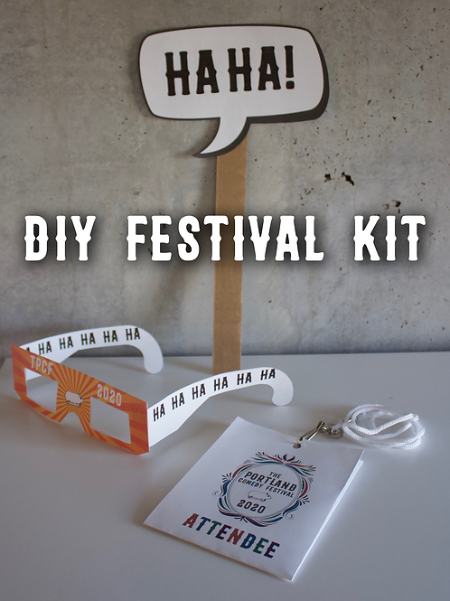 TPCF 2020 Printable DIY Festival Kit