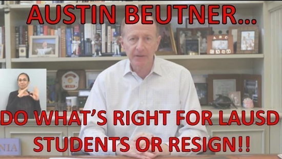 Austin Beutner Petition LAUSD CSU