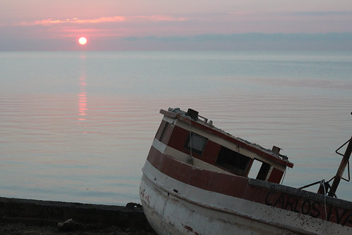 Fishing Boat in Campeche