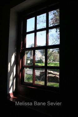 Through the Window at Williamsburg