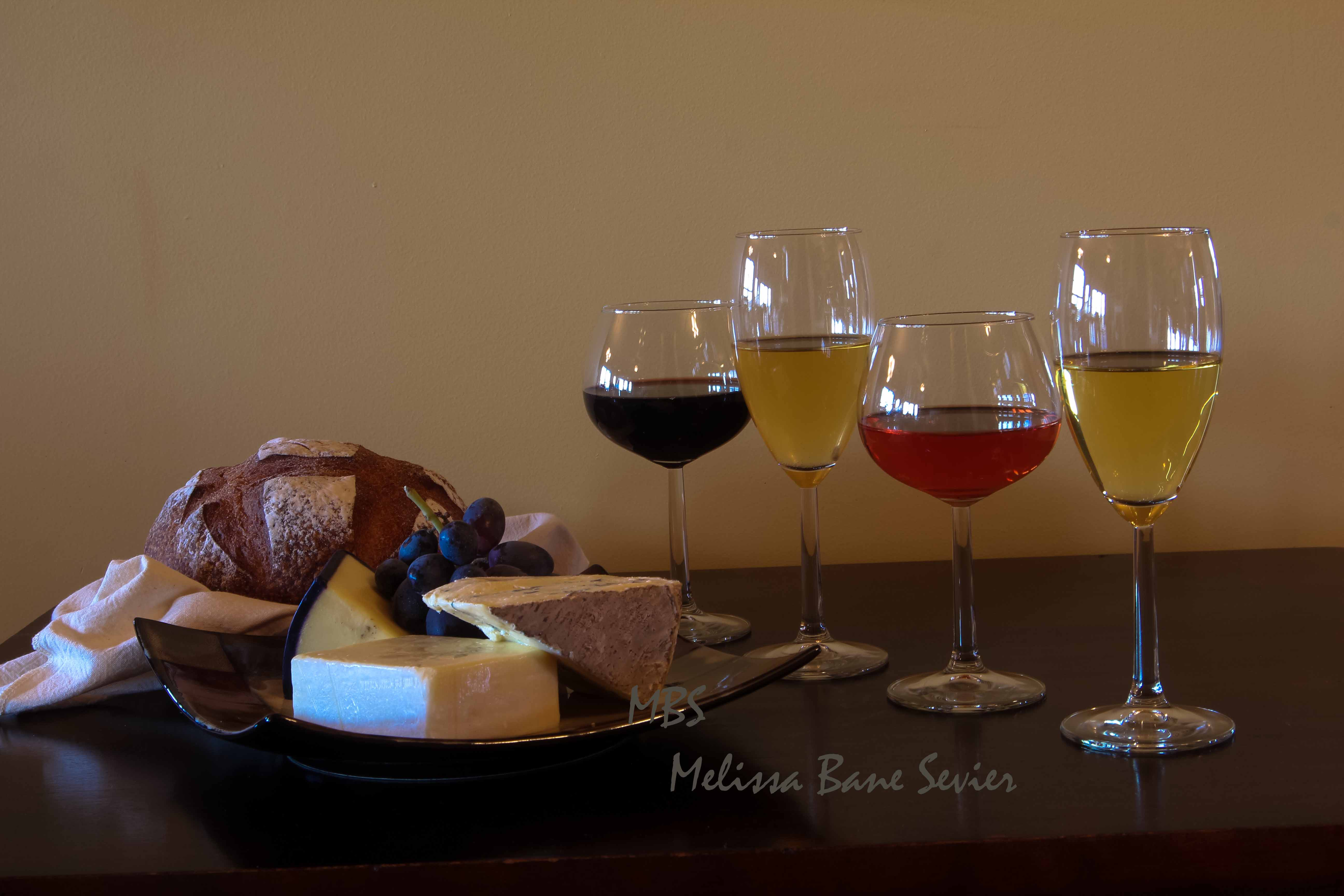 wine, bread, cheese, copyright