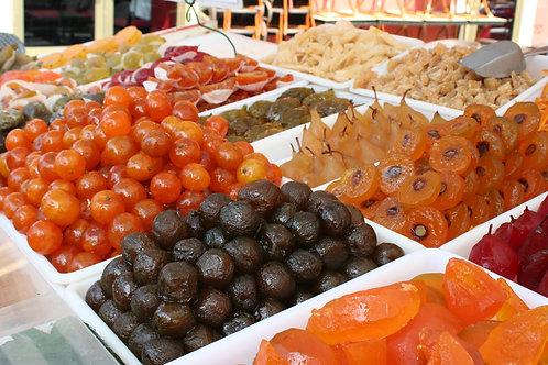 Candied Fruit, Nice Flower Market