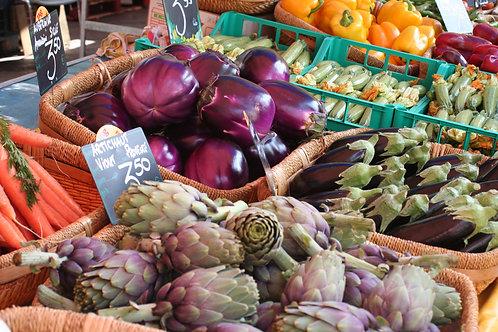 Vegetables at the Nice Flower Market