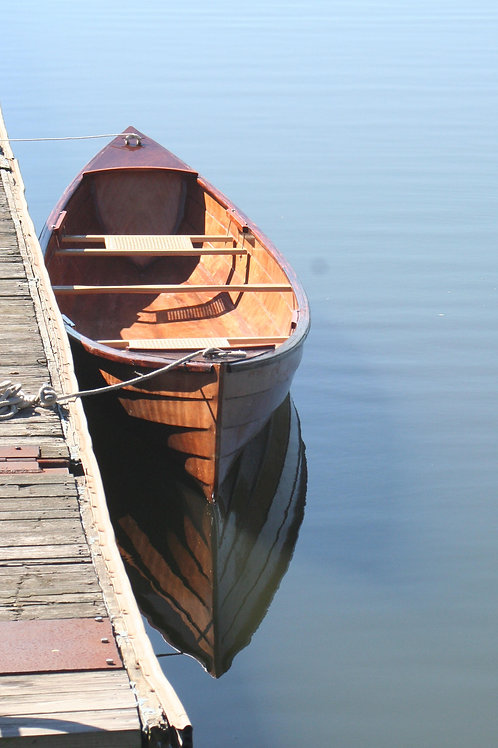 Canoe Reflections at Barren River Lake
