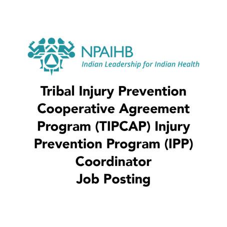 NPAIHB Project Coordinator Job Posting (Closing date: April 10, 2021)