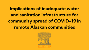 Implications of inadequate water and sanitation infrastructure for community spread of COVID-19...