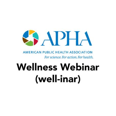 Save the Date: Wellness Webinar