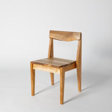 さんとめ材の椅子