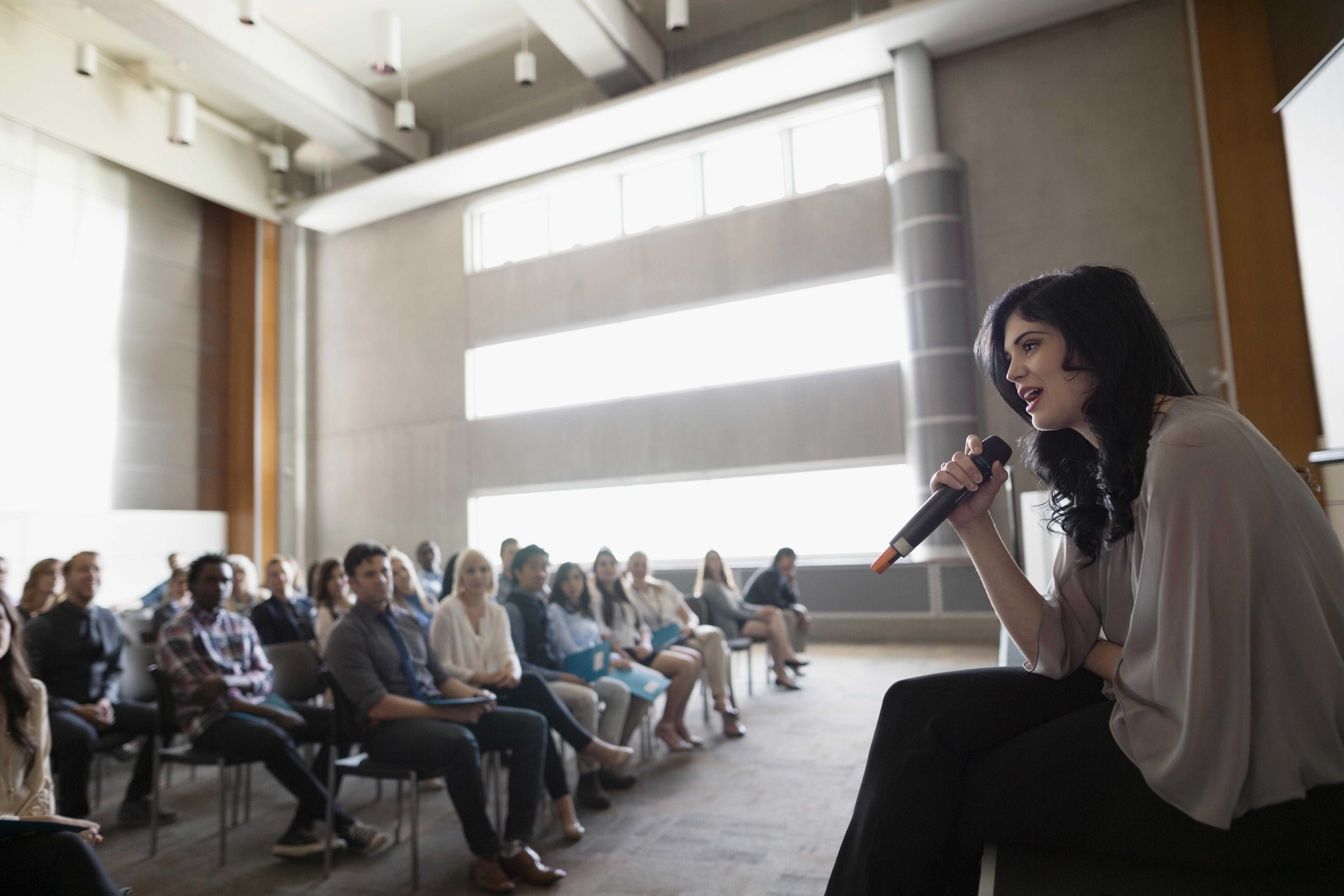 Speaker - various topics