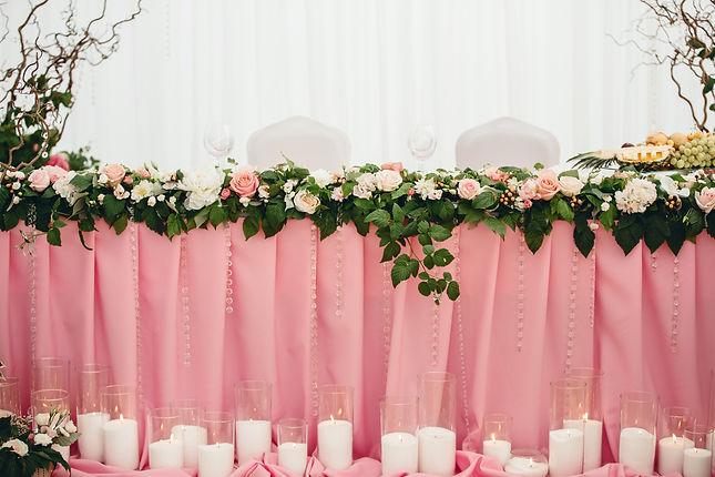 Оформление свадебного стола новосибирск