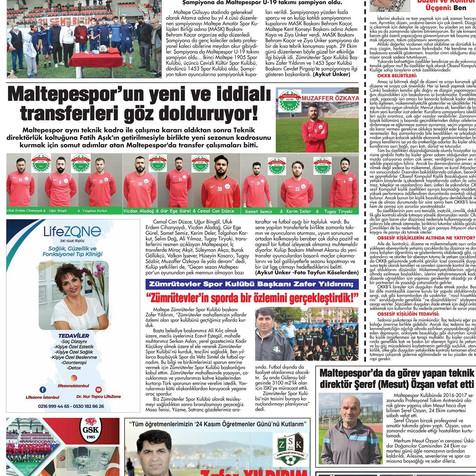 Şubat 2021 - Gazete Yazısı