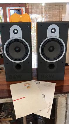 B&W DM560 Vintage Speakers