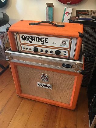 OrangeAD30-H Guitar Amp and Cab