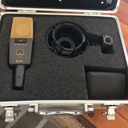 AKG C414 XLII RECORDING MICROPHONE AS NEW