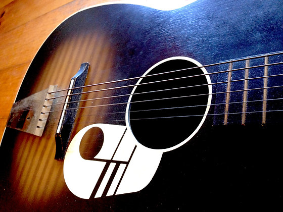 Kay Music Note Acoustic Slide Guitar - 1950's SOLD