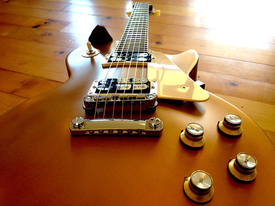 Gibson Les Paul Gold Top - 1960's Reissue SOLD