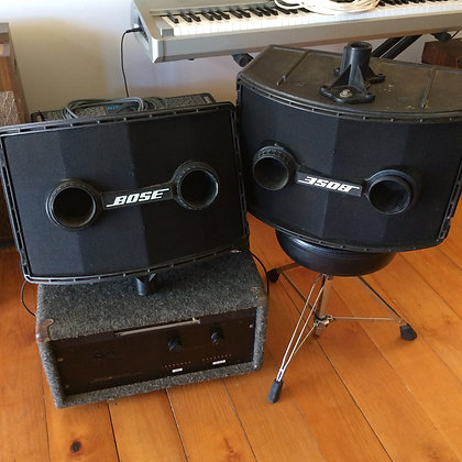 BOSE 802 SPEAKERS AND POWER AMP