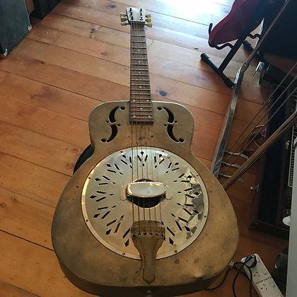 Chinese Steel Resonator Slide Guitar