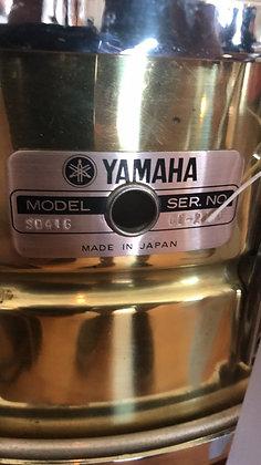 Vintage Yamaha brass snare
