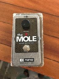 EH Nano Mole Bass Booster Pedal