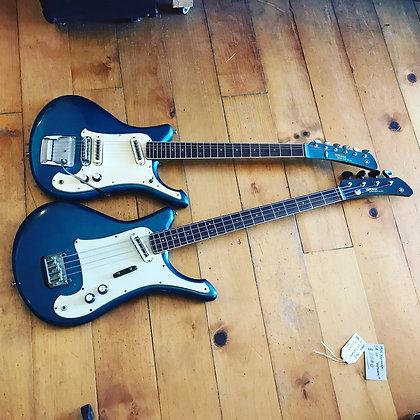 Yamaha Samurai 60s Guitar and Bass