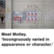Mcr Finest, Motley, Street art, Manchester, art, Deansgate, Bar, Restaurant
