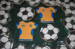 Soccer balls & jerseys