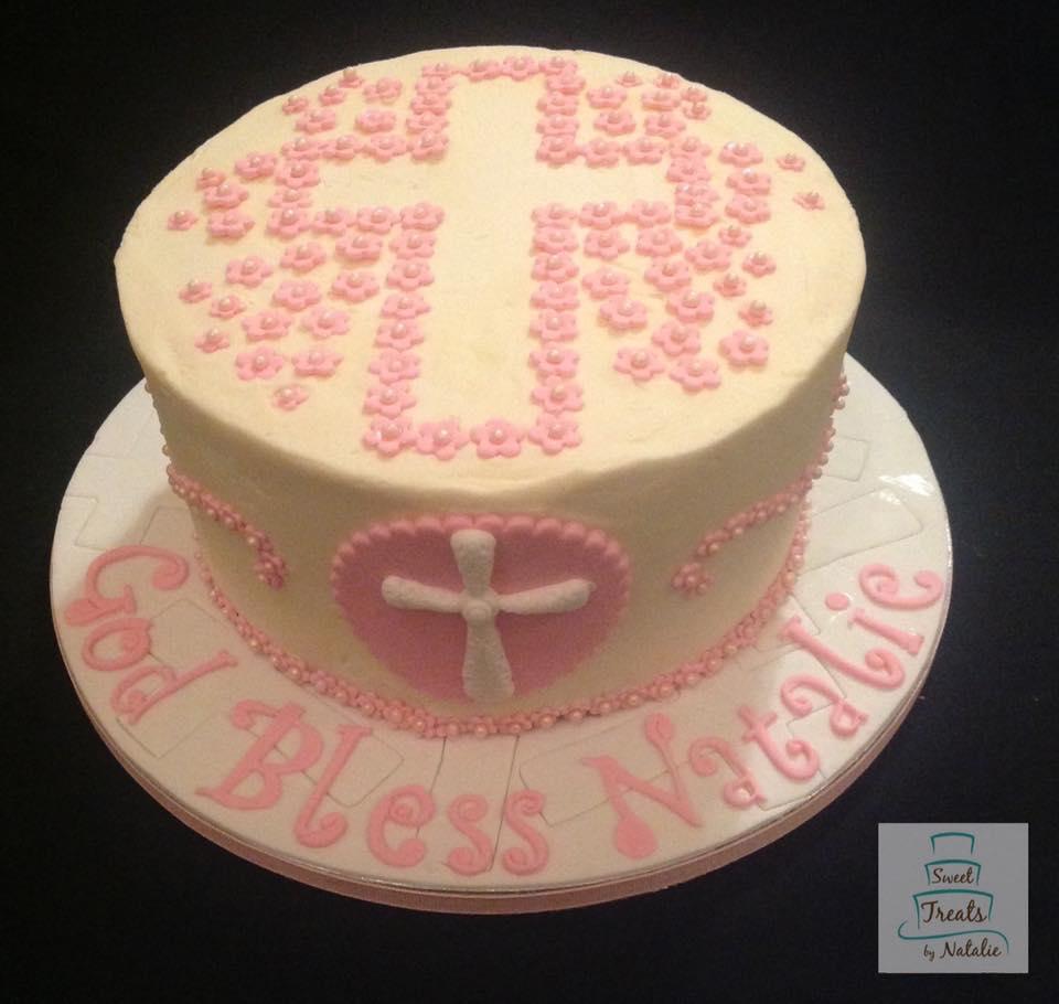 Buttercream Confirmation cake