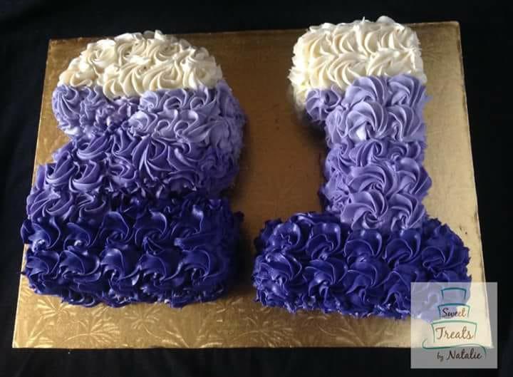 21 Number Cake