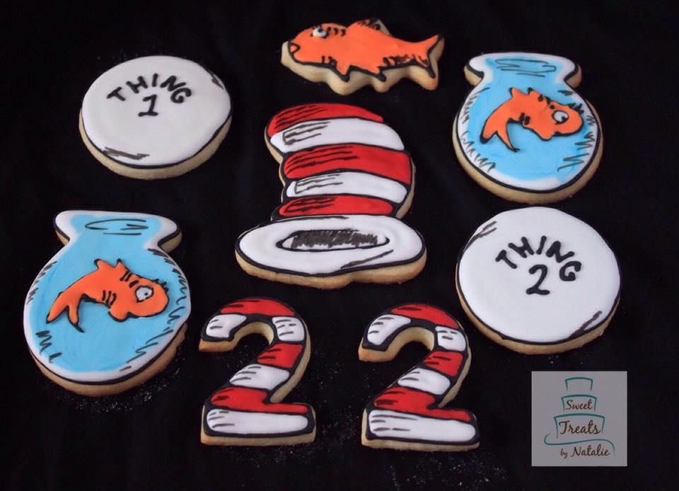 Cat in the Hat cookies