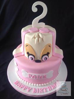 Paw Patrol - Skye cake
