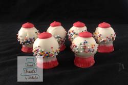 Gumball Machine Cakepops